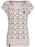 Naketano Damen T-Shirt Wolle Will Vögel (n) 6 T-Shirt