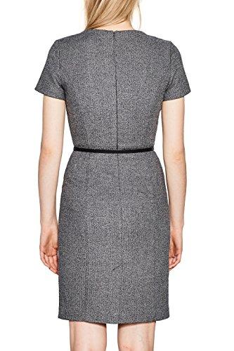 ESPRIT Collection Damen Kleid Schwarz (Black 001)