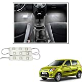 #7: Vheelocityin 9 LED Custom Cuttable Car White Light for Interior/ Exterior For Maruti Suzuki Alto 800