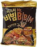 Nong Shim Mr. BIBIM Instantnudeln Korean Spicy Chicken Flavour – Koreanische Nudeln scharf - schnelle Zubereitung – 10er Vorteilspack à 126g