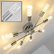 Lampara de techo LED Kinosu - 3000 Kelvin blanco cálido - 8x 4W (32W en total) - 2400 Lumens en total