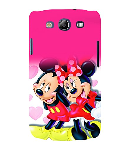 printtech Disney Mickey Minnie Mouse Back Case Cover for Samsung Galaxy S3 Neo / Samsung Galaxy S3 Neo i9300i