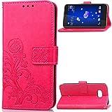 HTC U12Plus Case, Very Light Slim Art Grass Deisgn Soft