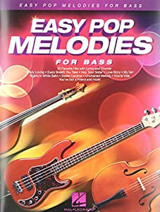 Easy Pop Melodies for Double Bass (Instrumental Folio)