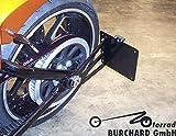 Seitlicher Kennzeichenhalter Harley Davidson Rocker, Breakout mit TÜV Teilegutachten