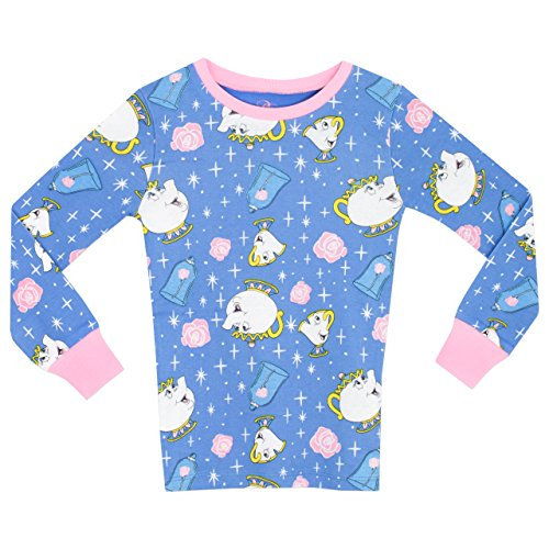 6e6265b52aad Beauty   the Beast Girls Mrs Pots   Chip Pyjamas – Snuggle Fit ...