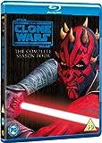 Star Wars: The Clone Wars - The Complete Season Four [Blu-ray] [2012] [Region Free]
