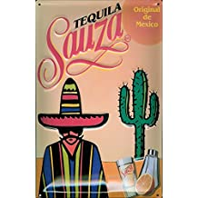 Tequila Cartel de chapa–sauza–de Mexico–20x 30cm nostálgico Retro placa metal tin sign