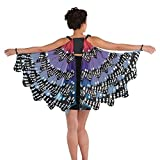 Giant Monarch Butterfly Fairy Wings Ladies Carnival Cape Festival Fancy Dress