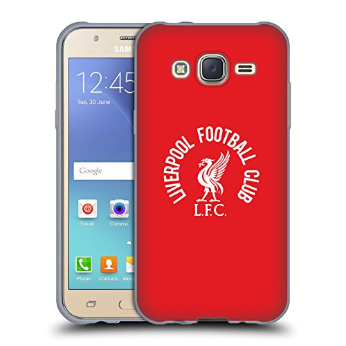 5a2995d5f Official Liverpool Football Club White LFC On Red Liver Bird Soft Gel Case  for Samsung Galaxy