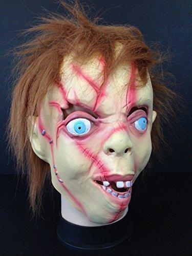 Kinder CHUCKY Vollen Kopf Maske Kinderspiel Film Spiel Kostüm Maske