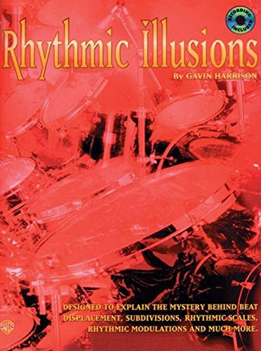 Gavin Harrison: Rhythmic Illusions Drums (Book and CD)