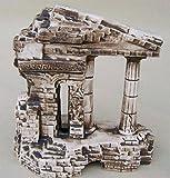 Deko Aquarium Römisch Antik Fische Keramik Dekoration Höhle Neu Terrarium Ruine