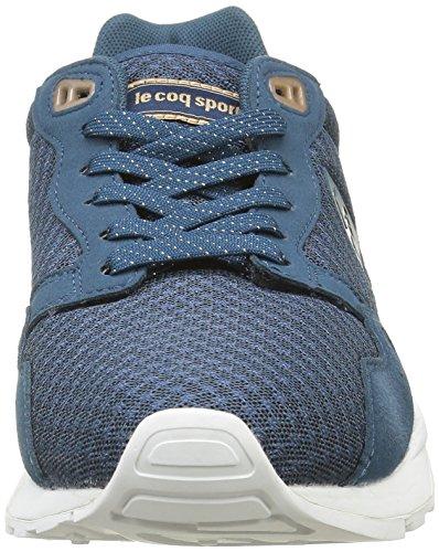 Le Coq Sportif LCS R900 Majolica, Scarpe da Ginnastica Basse Donna Blu (Majolica Blue)