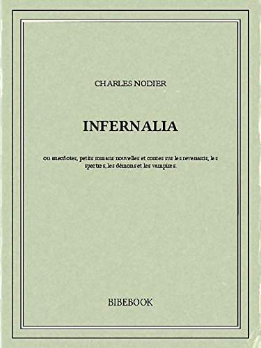 Couverture du livre Infernalia