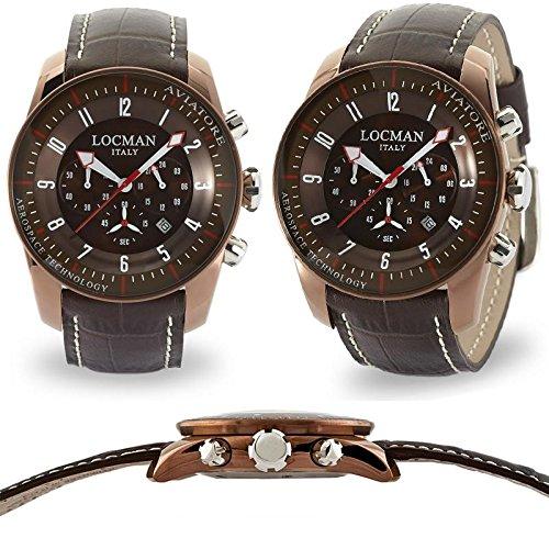 Locman 0450BNBNFWRNPST Montre à bracelet pour homme