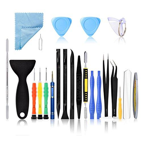 kzeugset Reparaturset kit zum Öffnung für Handy iPhone 7 6s Plus 6s 5s,und andere Geräte wie Tablet, MP3-Player ()