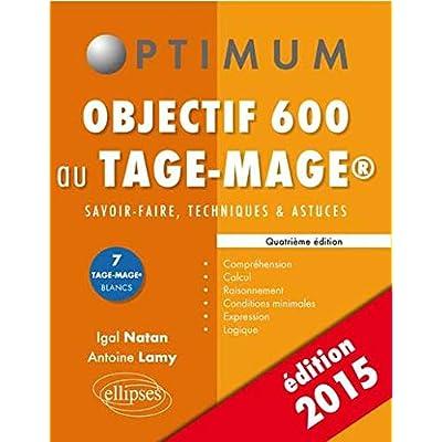 Objectif 600 au Tage-Mage® Édition 2015