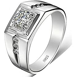 Dc Jewels Sterling Silver Ring For Men