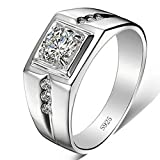 #9: DC Jewels .925 Sterling Silver Ring for Men