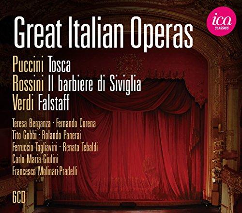 Les Grands Opéras Italiens : Tosca, le Barbier de Séville, Falstaff