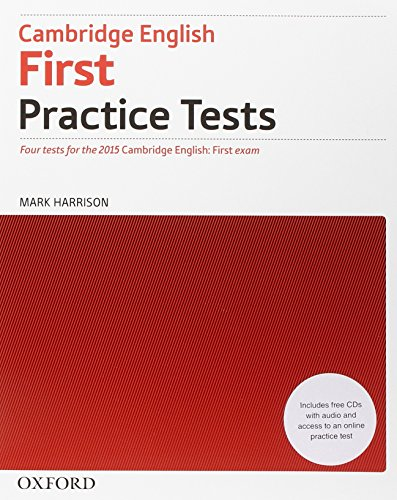 First 2015 practice tests. No key. Per le Scuole superiori. Con espansione online