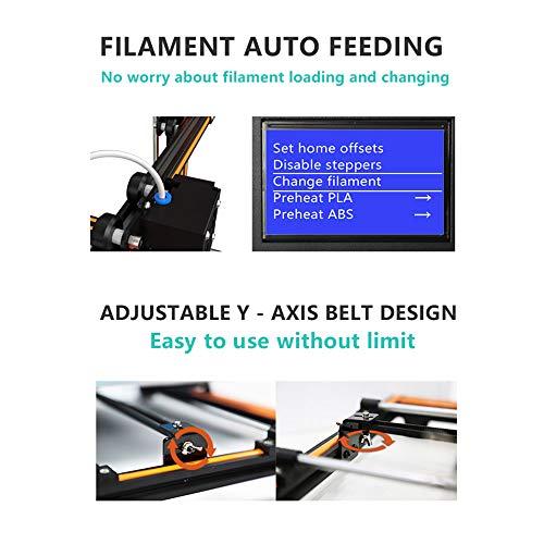 Aibecy Anet E16 DIY 3D-Drucker Hochpräzise Selbstmontage 300 * 300 * 400mm Große Druckgröße Aluminiumlegierung Rahmen LCD Display Auto Faden Fütterung - 2