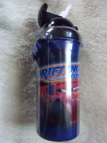 Image of Disney Cars Lightning McQueen Sports Bottle