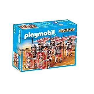Playmobil Romanos y Egipcios – Legionarios, Playset de Figuras de Juguete, Multicolor (Playmobil, 5393)