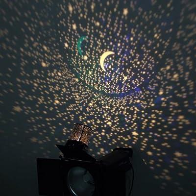 Fuloon Sternhimmel Projektor Sternhimmel-lampe Nachtlicht Mit Farbewechsel Sternhimmel Leuchten Projektor Leuchten Sternhimmel Light Sternhimmel-lampprojection Sternhimmel Erholung Projektor Pot Music Eingang
