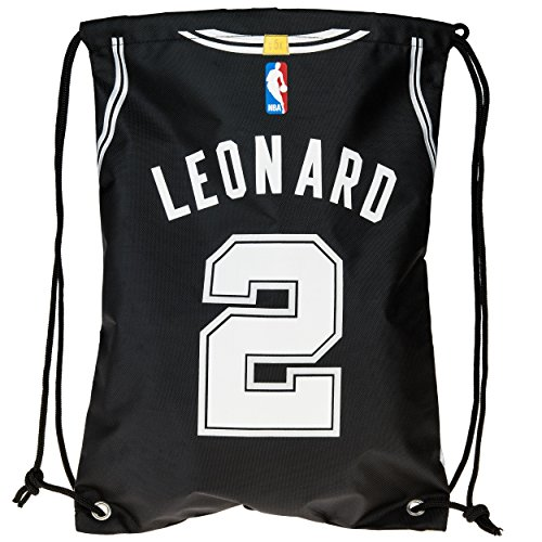 Forever Collectibles Leonard K. # 2 Player Kordelzug Rucksack, San Antonio Spurs, One Size - San Antonio Spurs-bean-bag