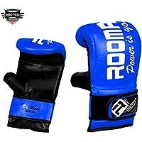 ROOMAIF - Guante de saco de boxeo Guantes de boxeo para entrenamiento Guantes Boxeo Saco Sparring Entrenamiento Mitones Muay Thai Kick Boxeo ES (Azul negro, XL)