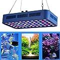 165W ÉClairage Aquarium LED, Spectre Complet Aquarium LumièRes avec Ajustable Cintre Kits pour Eau Fraiche Eau SaléE RéCif De Corail Les Plantes Et Poisson