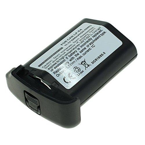 Galleria fotografica subtel® Batteria premium per Canon EOS 1D C, EOS 1D Mark III, Mark IV, EOS 1Dx, EOS 1D x Mark II, Canon 580EX, 540EZ, 550EX, MR-14EX (2200mAh) LP-E4 / LP-E4N Batterie di ricambio, accu sostituzione, sostituto