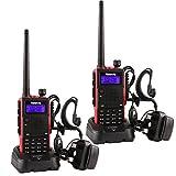 Retevis RT5 Walkie-Talkie 5w 128 Channel Dual Band 136-174+400-520MHz VOX FM Two Way