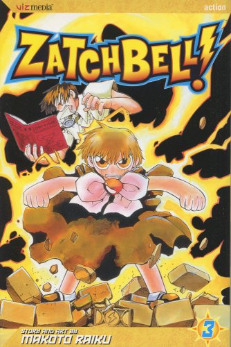 Zatch Bell!, Vol. 3 (Zatch Bell (Graphic Novels))