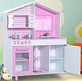 TZ-d1083grande cucina per bambini con Teatro Gioco da cucina in legno da cucina