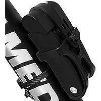 GO PAL plegable Bloqueo de la bici ultra fuerte de acero de aleación de metal de hueso con revestimiento de plástico
