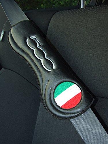 Ti El Es Gurtschoner Sicherheitsgurt Polster Auto PKW Gurt - FIAT Abarth 500-2 STK
