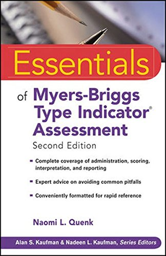 Essentials of Myers-briggs Type Indicator Assessment, Second Edition (Essentials of Psychological Assessment)