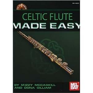 Celtic Flute Made Easy. Partitions, CD pour Flûte Traversière