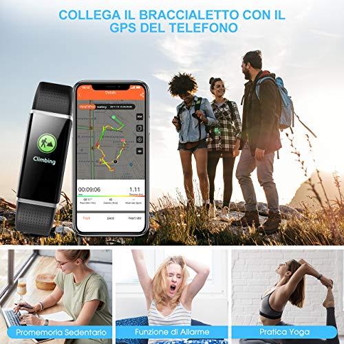 Zoom IMG-3 mpow fitness tracker ip68 orologio