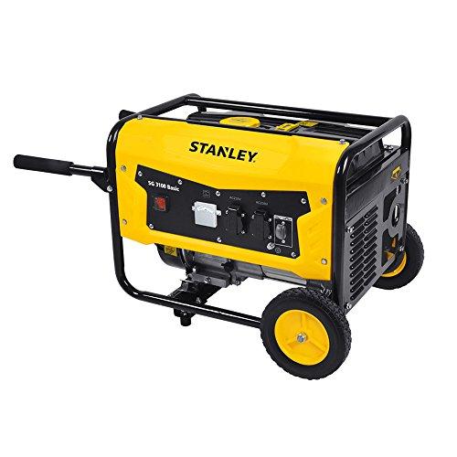Stanley SG 3100 Basic Stromerzeuger (Inverter), 4-takt Benzinmotor - Betriebsdauer: 8,2 Stunden - 604800020 -