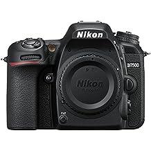 Nikon D7500 + AF-S DX NIKKOR 16-80 VR SLR Camera Kit 20.9MP CMOS 5568 x 3712pixels Black - Digital Cameras (20.9 MP, 5568 x 3712 pixels, CMOS, 4K Ultra HD, Touchscreen, Black)