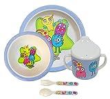 Bieco 04000411 - Kindergeschirr mit tollen Motiven und Farben
