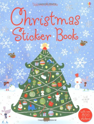 Christmas Sticker Book (Usborne Activities)