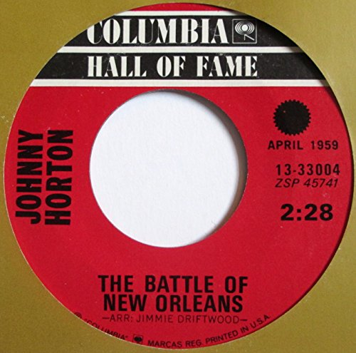 battle of new orleans 45 rpm single (New Vinyl Orleans)