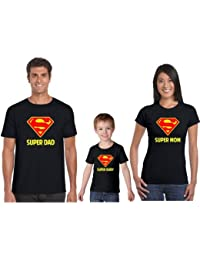 Fathers Day Gifts, TYYC Super Mom Super Dad Super Baby Family T Shirt, Gifts For Father, Gifts For Dad, Family...