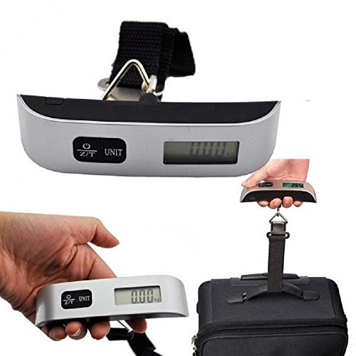 Digital luggage scales travel T shape 50KG Digital Luggage suitcase travel bag Hanging Weighing Scale with strap UK stock