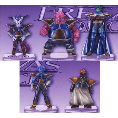 Figure Series Sectional FREEZAS FORCE 1 whole set of 5 to Dragon Ball Kai Freeza corps was gathered (japan import) - Sectional-serie